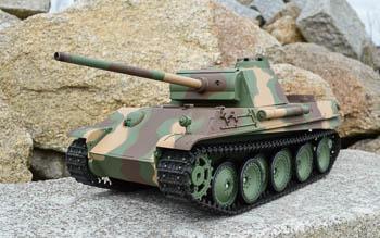 Profesionální RC model tanku Leopard 2A6